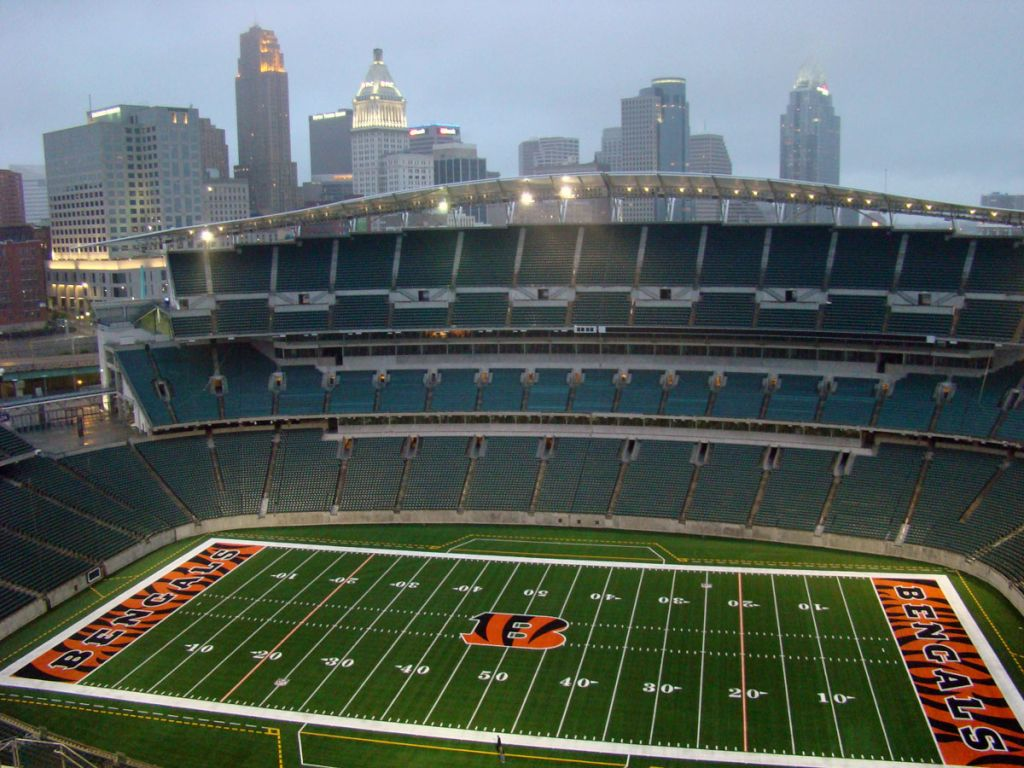 paul brown stadium field renovation now completed