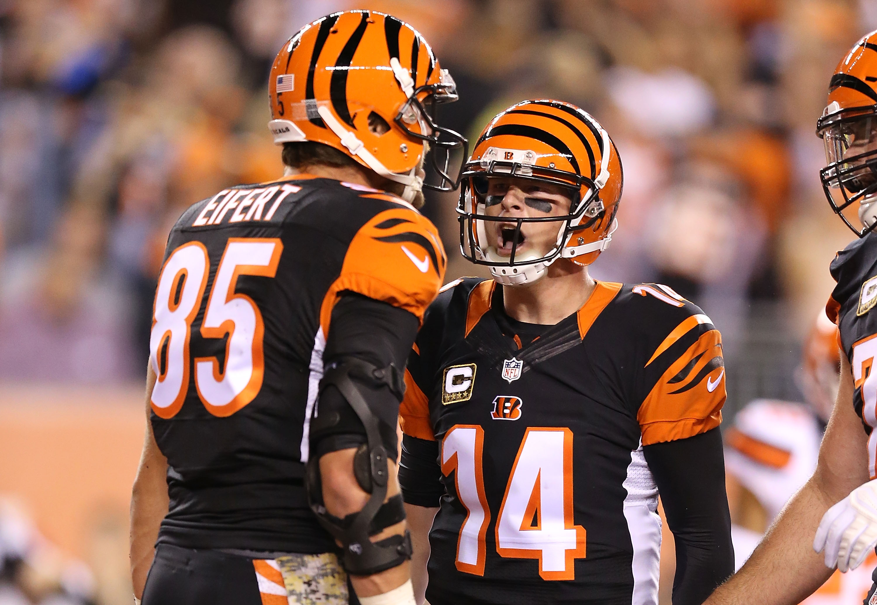 It is a picture of Tactueux Cincinnati Bengal Images